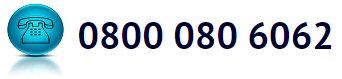 Tel Number 0800 080 6062